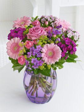 summer pastel vase