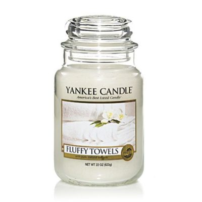 new fluffy towels large jar