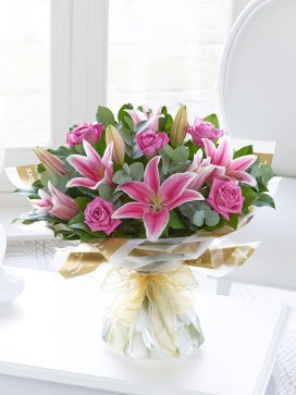 pink rose and lily ht