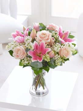 pure elegance rose and lily ht