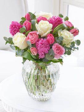scented spring vase